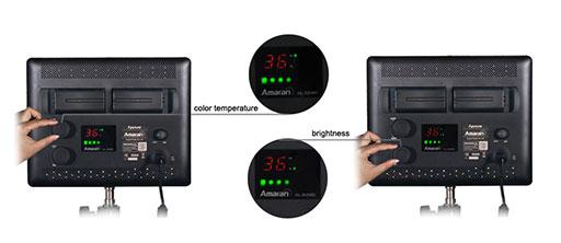 Win 2 Amaran AL-528C LED Panels From Aputure
