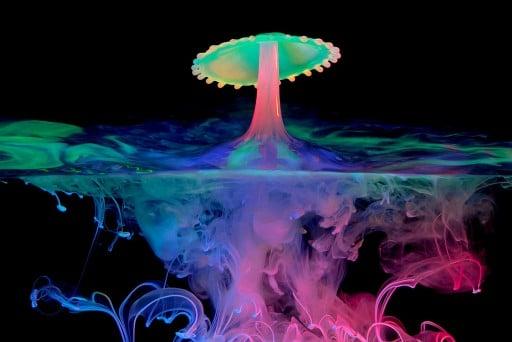"How To Photograph A ""Bioluminescent Splash"""