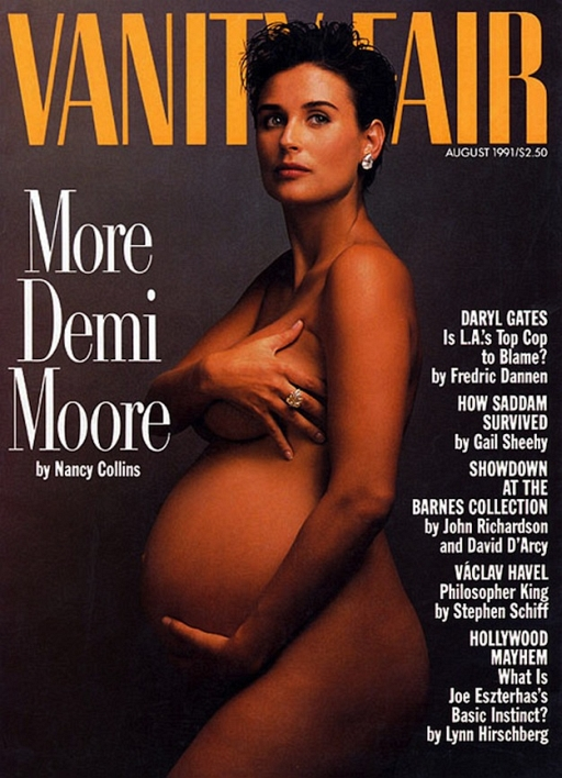How to Recreate the Demi Moore Vanity Fair Cover Pose