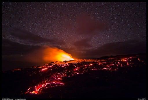 Awe Inspiring Time Lapse Of Hawaii Volcanoes