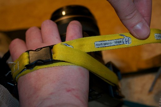 Repurpose A Key-Cord Into a Hand Strap