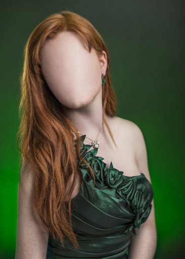 Featureless Studio Shots Of Models Are Quite Creepy