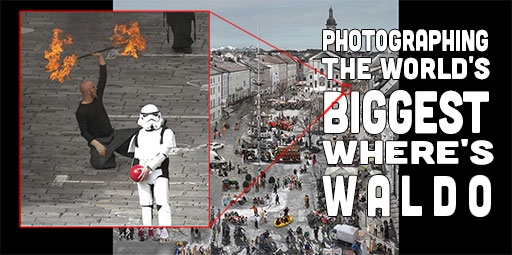 Photographing the World's Biggest (8 GB+) Where's Waldo Photograph