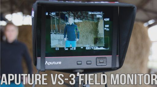 The Aputure VS-3 Field Monitor Packs More Than Its 7 Inches