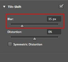 How to Create a Fake Tilt Shift Effect