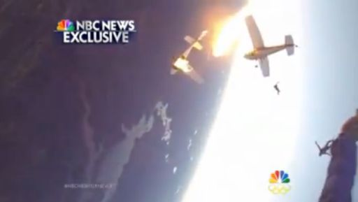 Caught On Camera: GoPro Skydivers Catch Their Two Planes Collide. From Inside The Plane