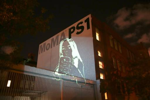 How I Got My Art On The Biggest Wall Of MOMA PS1