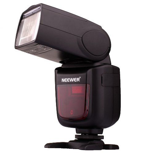 The NEEWER® TT850  Is A Hot Shoe Strobe That Does Not Use AA Batteries - Packs More Pops