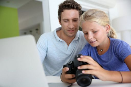 Daughter, with iPhone, takes better photos than father, with Nikon D800