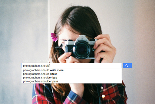 Google Thinks That Photographers Are Not Paying Taxes (And That They Should Not Use Groupon)