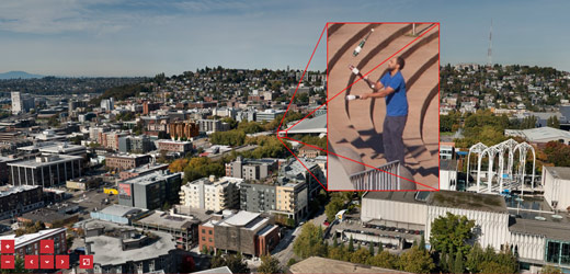 This 52,000MP Panorama Of Seattle Is An Artists Treasure Hunt