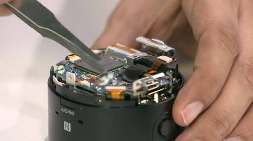 Sony QX100 Teardown Video - Don't Try This at Home