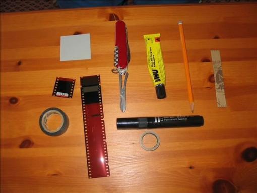 IR filter / infra red filter - parts