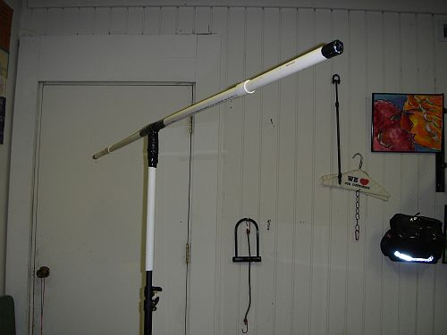 Double Your Light Stand As A Portable Backdrop Mount System
