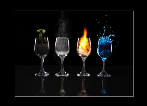 photographing the four elements