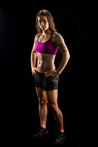 muscular fitness wear model dramatic lighting