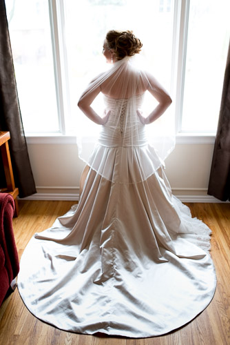 Ancaster Mill Wedding Photography Bride in Window Hamilton Wedding Photographer JP Danko blurMEDIA