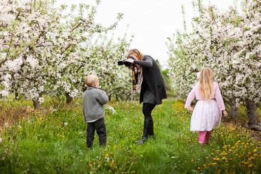 Woman photographing children jp danko toronto commercial photographer