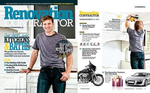 Toronto commercial photography renovation contractor magazine by JP Danko blurMEDIA