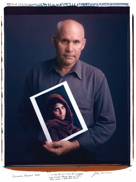 Steve McCurry  / Afghan Gril