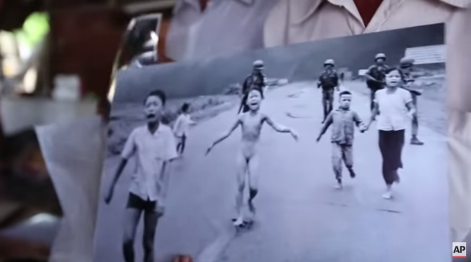 43 Years Later, Nick Ut Revisits the Scene of 'Napalm Girl'