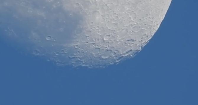 See the Nikon COOLPIX P900's 86x Zoom Lens Take On the Moon