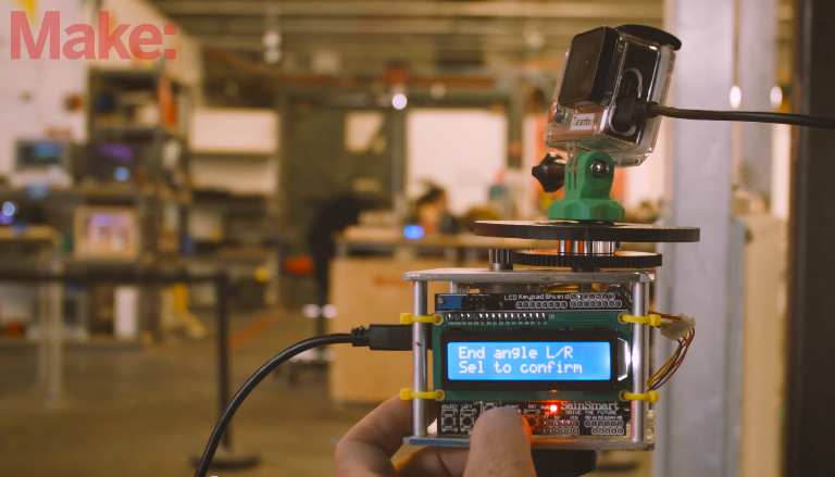 How To Build a Programmable Time Lapse Motion Control Platform For $150