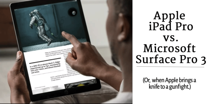 """Apple Announces iPad Pro; MS Surface Pro Users Confused By Apple's Use Of The Words """"Pro"""", """"New"""""""
