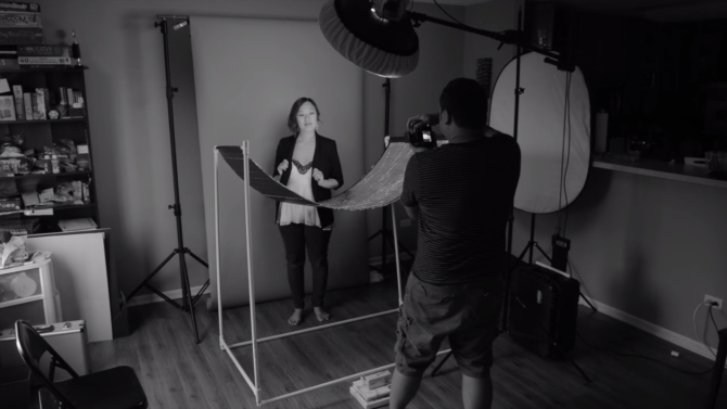 How To Build A DIY Eyelighter Reflector for Glamour Shots And Wonderful Catchlights