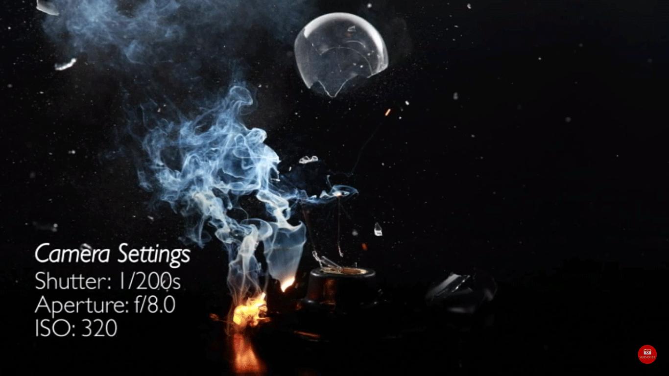 DIY High Speed Photography: Shooting Light Bulbs Video Tutorial