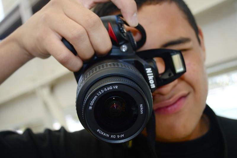 Photographer-closeup