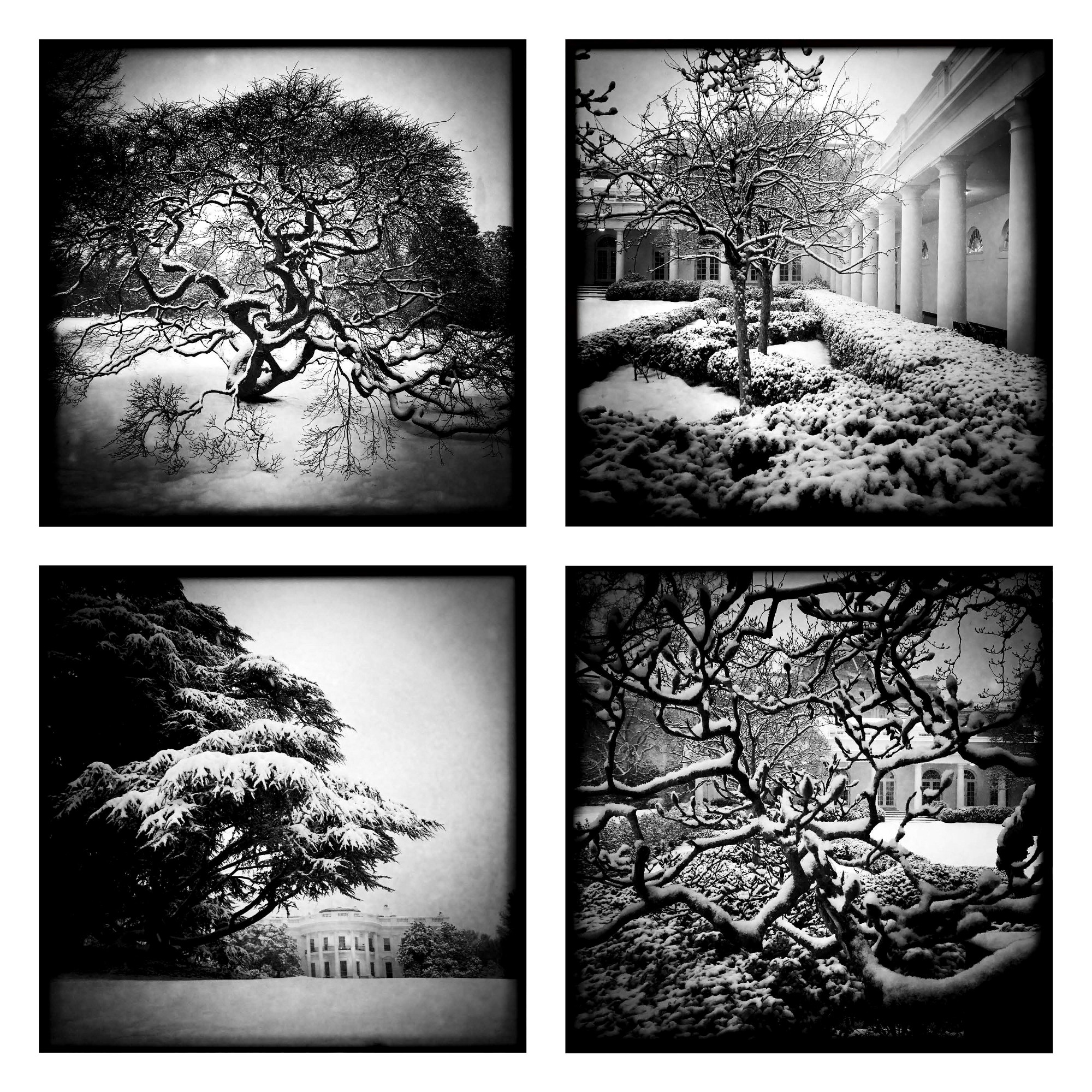 Snow scenes using the Hipstamatic app