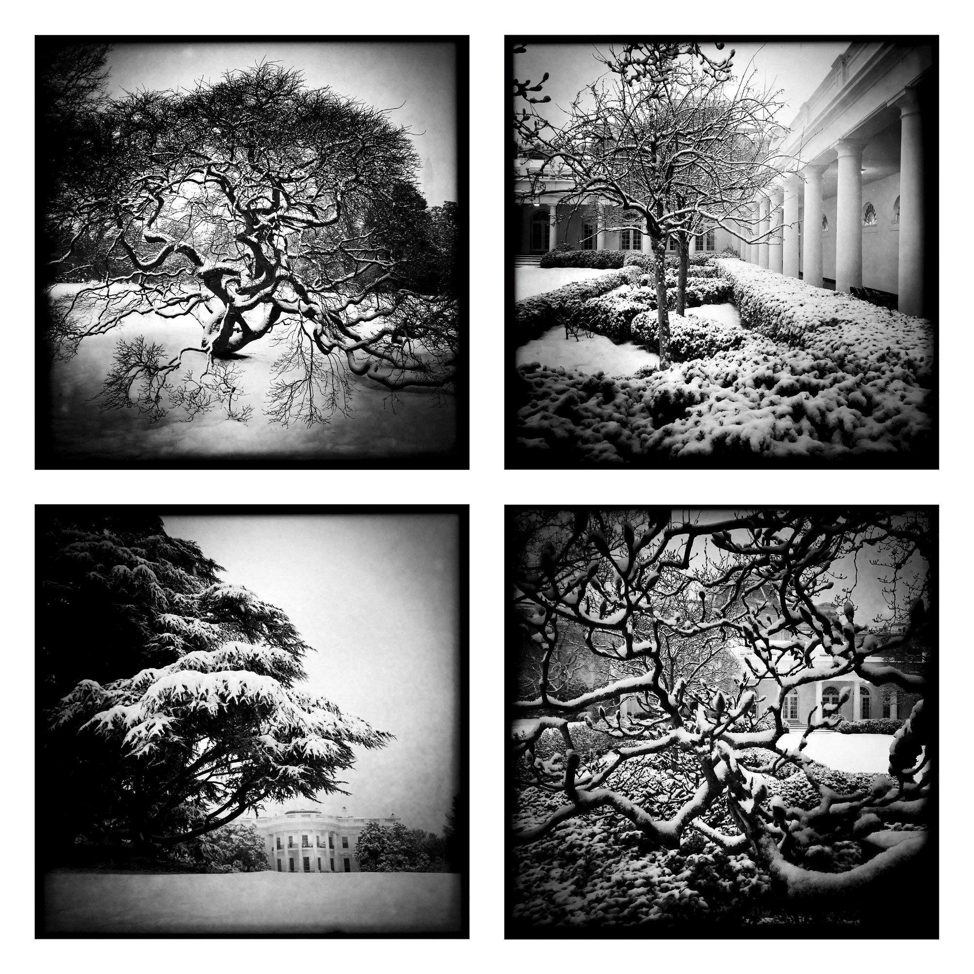 Snow scenes using the Hipstamatic app