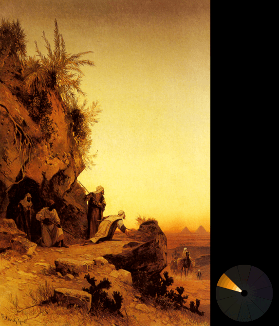 Hermann David S. Corrodi – The ambush (from ArtRenewal.org)