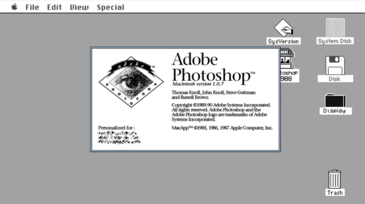 Watch: 28 years of Photoshop in only 3 minutes