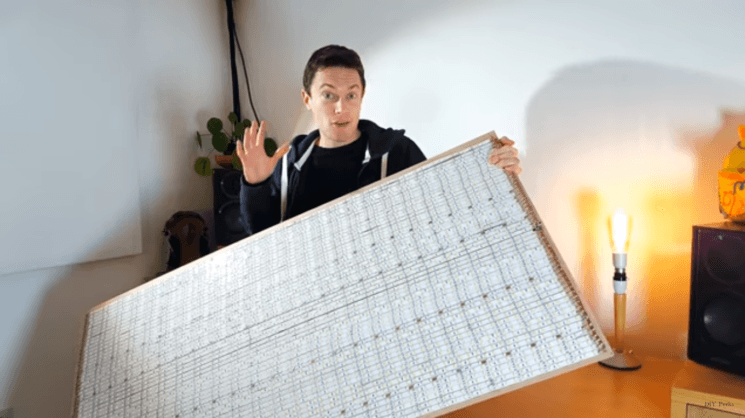 How to make the world's largest DIY LED panel