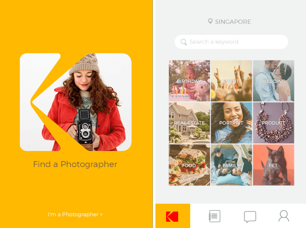 Kodak launches their own UBER photography service: KODAKIT