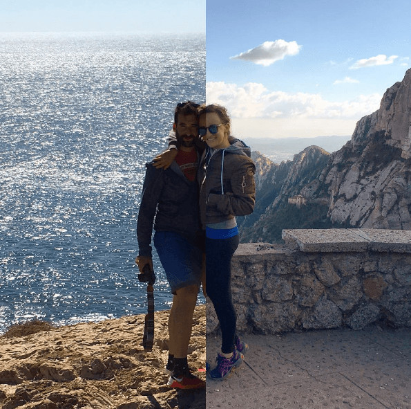 This couple travels the world apart – but their photos bring them together