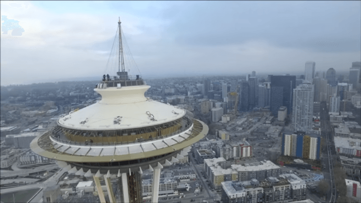 Pilot who crashed a drone onto Seattle's Space Needle may face charges and end up in jail