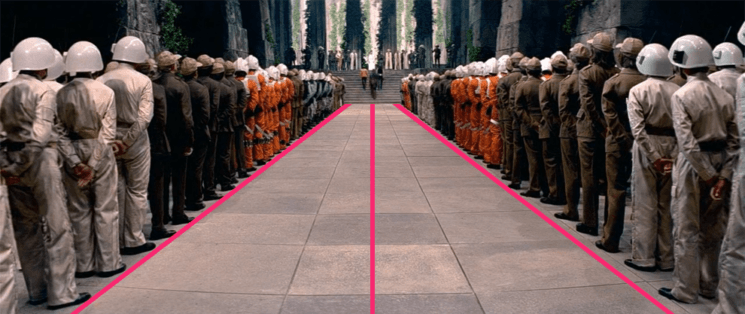 Geometric Shots: a fun way to explore composition patterns from famous movies and TV shows