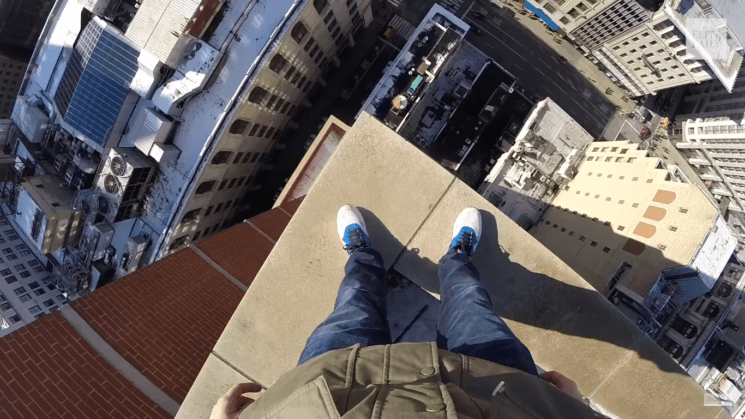 This urban explorer illegally climbs skyscrapers and bridges to take photos