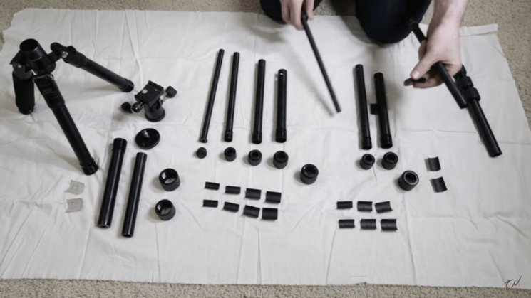 Here's how to easily and thoroughly clean your tripod