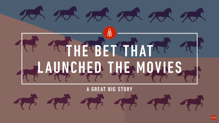A horse and a bet inspired the birth of cinematography