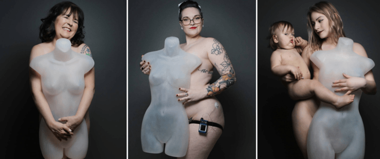 Photographer banned from Facebook because of naked mannequin photos [NSFW]