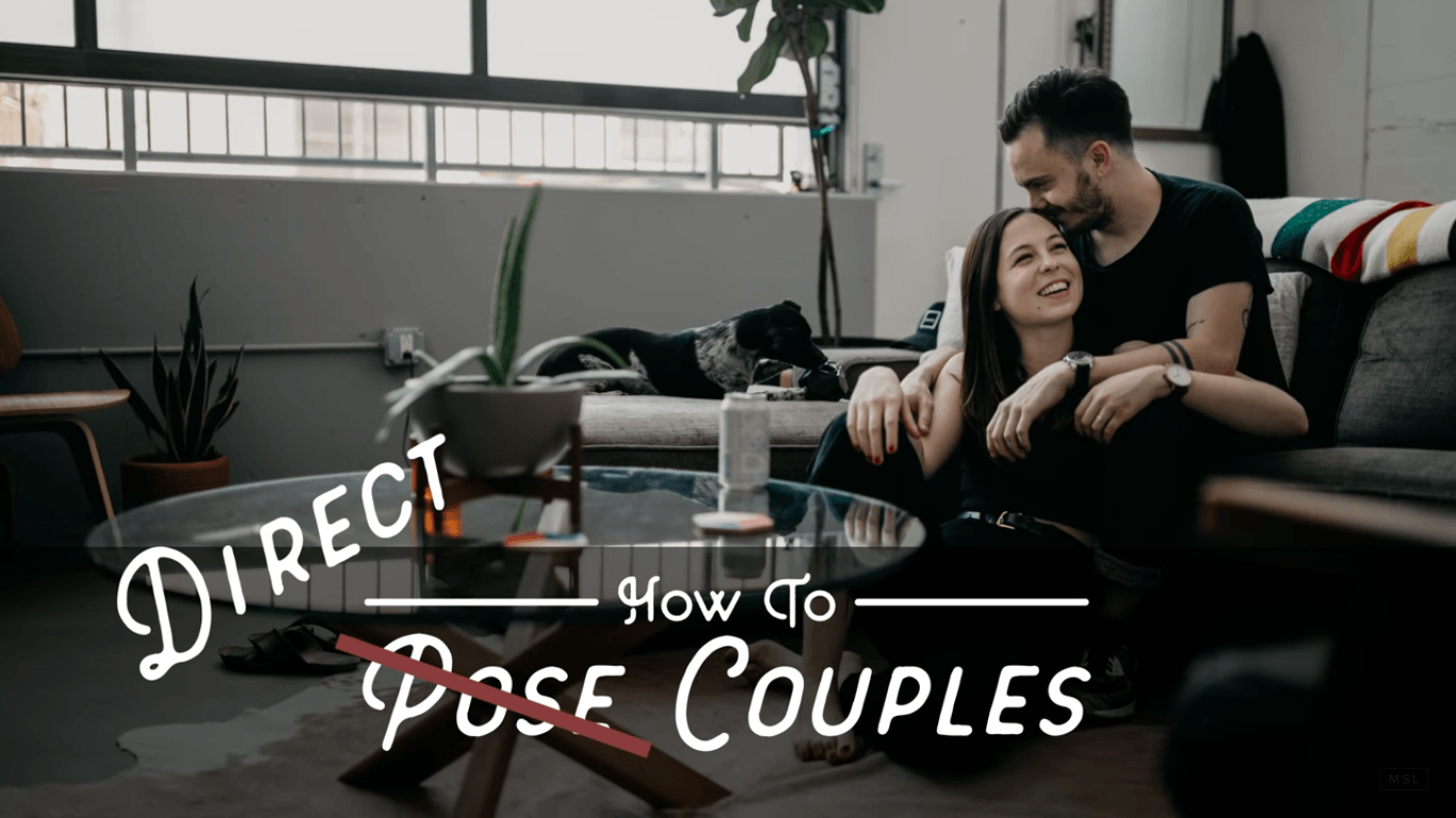 5 tips for beautiful and natural-looking couple portraits