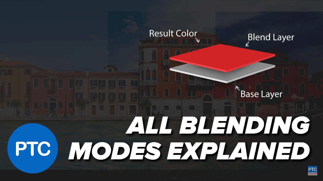 This video explains all 27 Photoshop blending modes