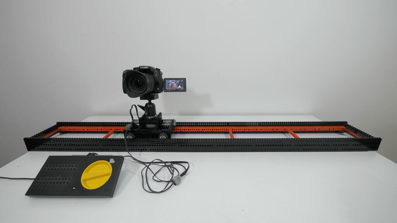 This Camera Slider Was Made Out Of Lego Bricks Diy Photography