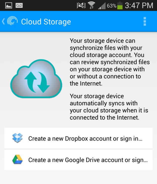 Seagate Wireless Plus - Cloud Storage Syncronization