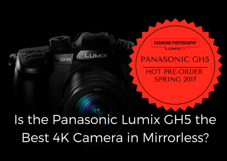 Panasonic aims for top spot in 4K video with new Lumix GH5