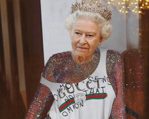 Rihanna posts photoshopped photos of Queen Elizabeth II, causes backlash from fans